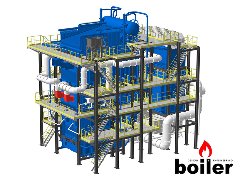 Steam boiler: fluidized bed | energo.design